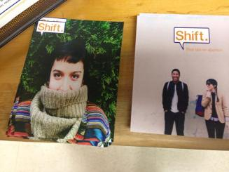 Shift. Real Talk on Abortion. postcards