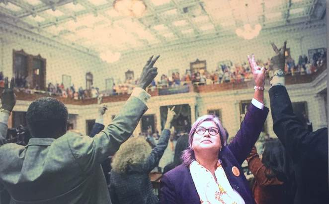 Image of Jessica Farrar in the Texas State Capitol