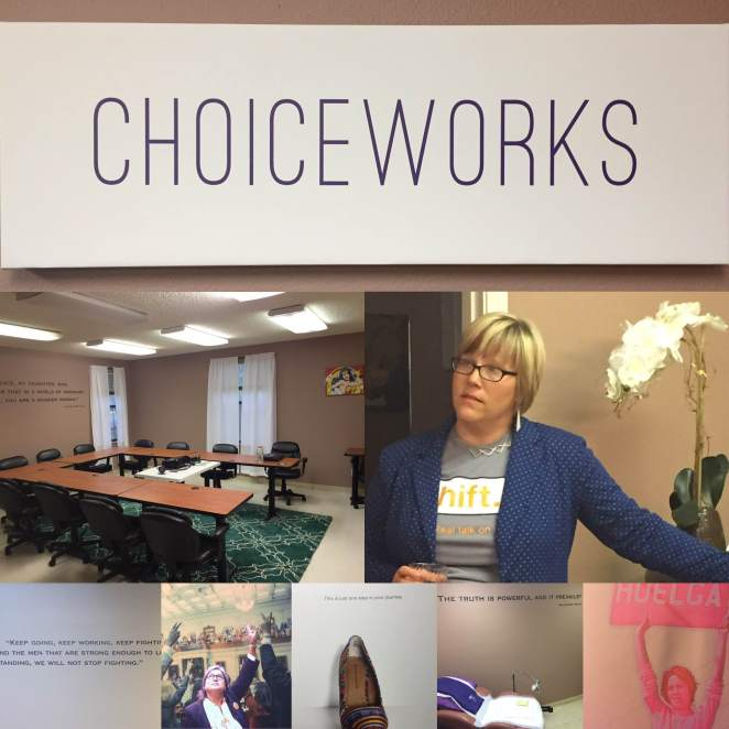 Images from the Shift launch party at the new ChoiceWorks space.