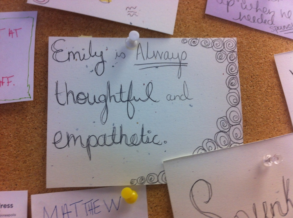 Positive snaps from the EmpowerLine