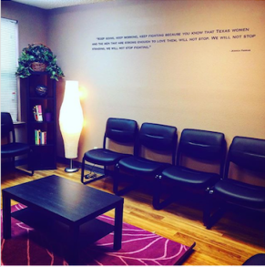 One of our Austin waiting rooms.