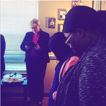 Local Clergy members blessed our Fort Worth Clinic.