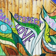 A small portion of our mural in Fort Worth!