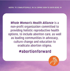 Launching Whole Woman's Health Alliance!